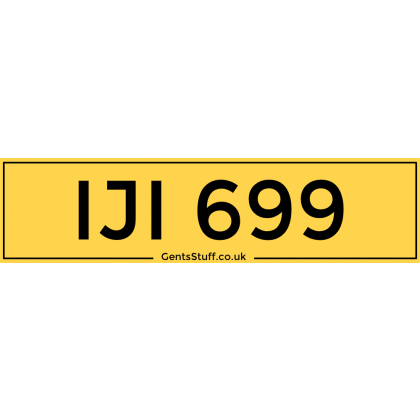 IJI699 - Private Number Plate