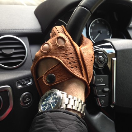 Peccary Driving Gloves