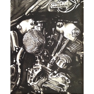 Harley Davidson Knucklehead Paint