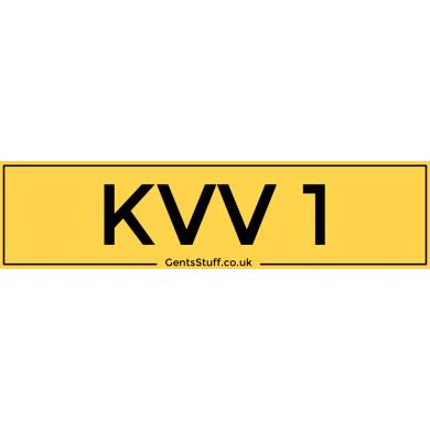 KVV1 - Private Number Plate